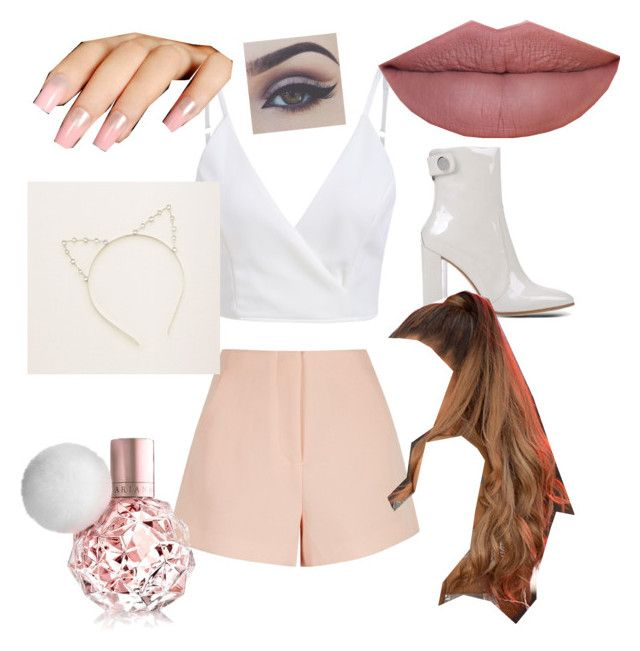 """""""Ariana grande"""" by paula-flagg on Polyvore featuring Finders Keepers, Gianvito Rossi and Aerie"""