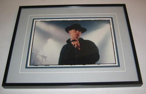 Matt Johnson Framed Photograph UK photograph PHOTOGRAPH: MATT JOHNSON Framed Photograph (UK 8 x 10 colour publicity photograph showing Matt…