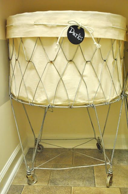 How To Make A Vintage Laundry Cart Liner Vintage Laundry