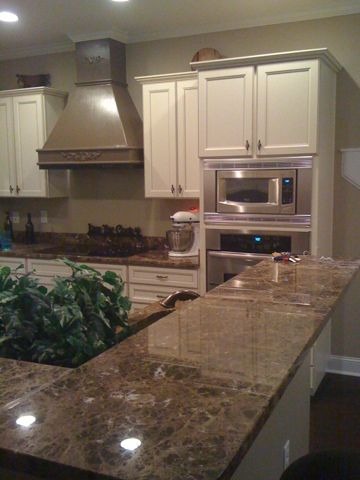 As a realtor I chose to put granite in my home and have come to encounter the positives and negatives to its use. It does not depreciate in value over the years; it is a one of a kind look; and it can possibly add value to your home! The most important quality it holds, is the characteristic that refuses bacterial contamination (: It can take the heat of a pan and it's easy to clean! However, it can be very expensive; it requires intense labor installation; it can crack under pressure (no…