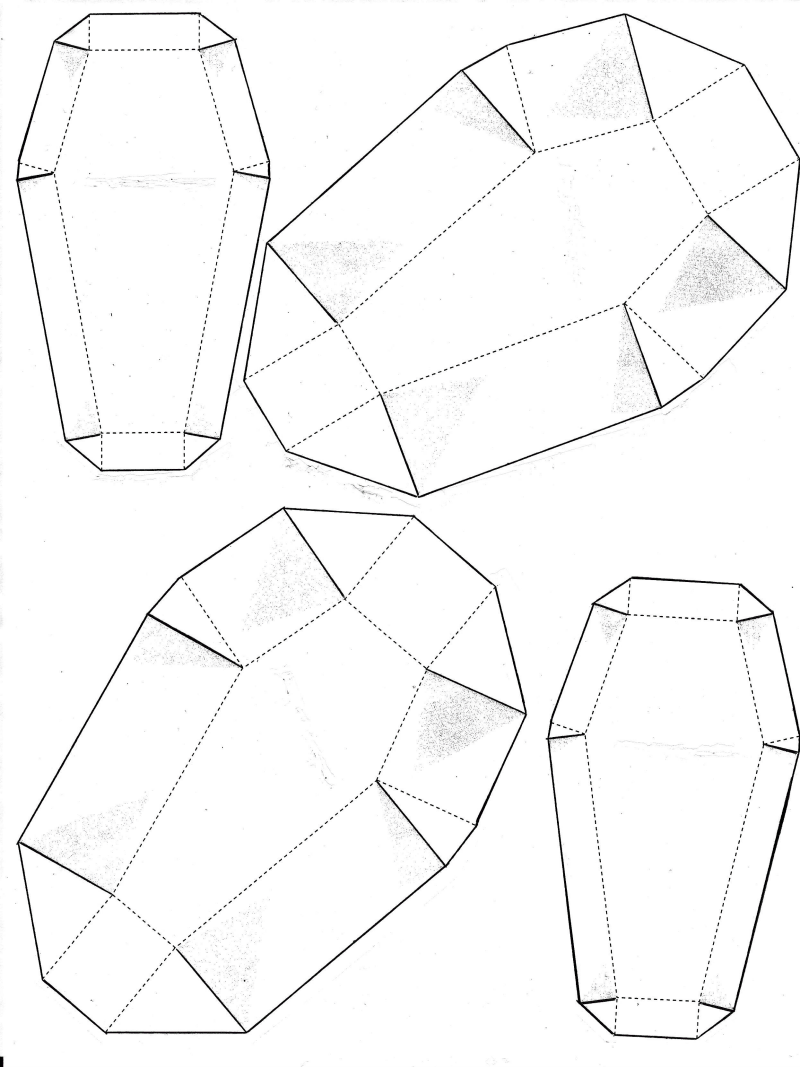 2 small coffin template google drive halloween in 2018