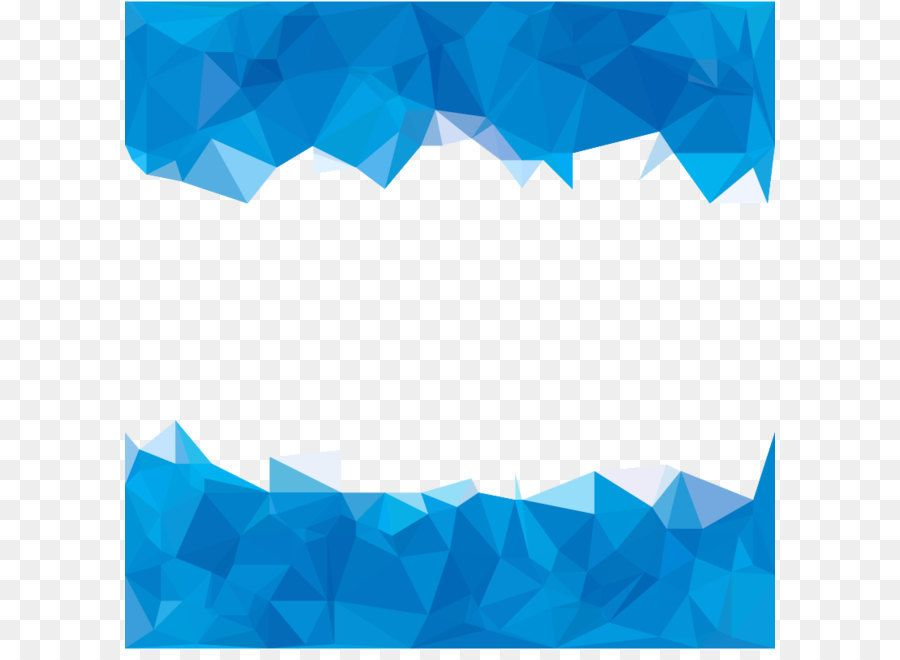 Blue Polygon Abstraction Sky Blue Polygons Abstract Background
