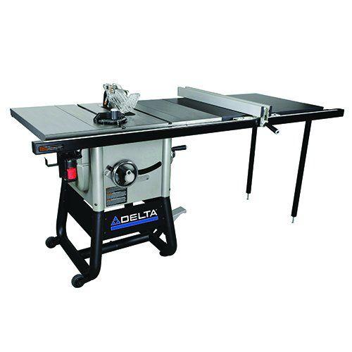Delta Power Tools 36 5152 Delta Left Tilt Table Saw With 52 Inch Rh Rip 10 Inch Table Saw Mite Delta Power Tools Table Saw Accessories Portable Table Saw