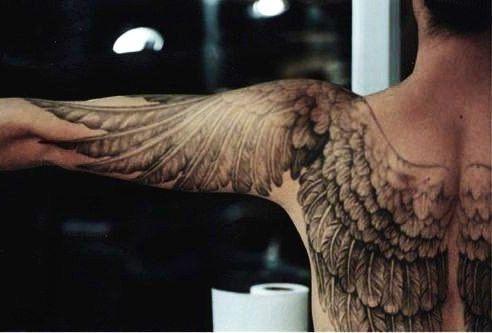 anatomically correct wings '
