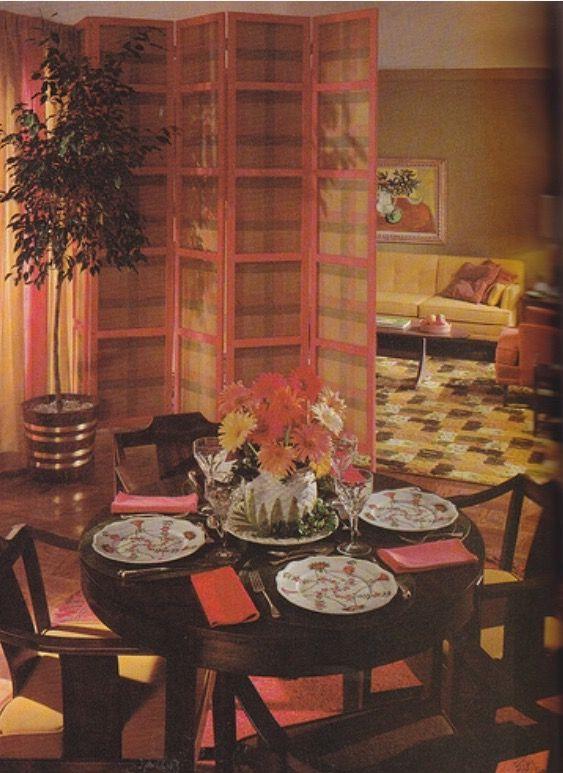 60s early 70s-ish #70sHomeDecor   1960s home decor, 70s ...