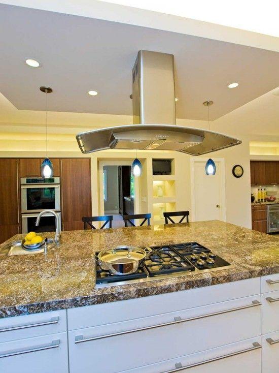 Kitchen Designs With Island Range Hood