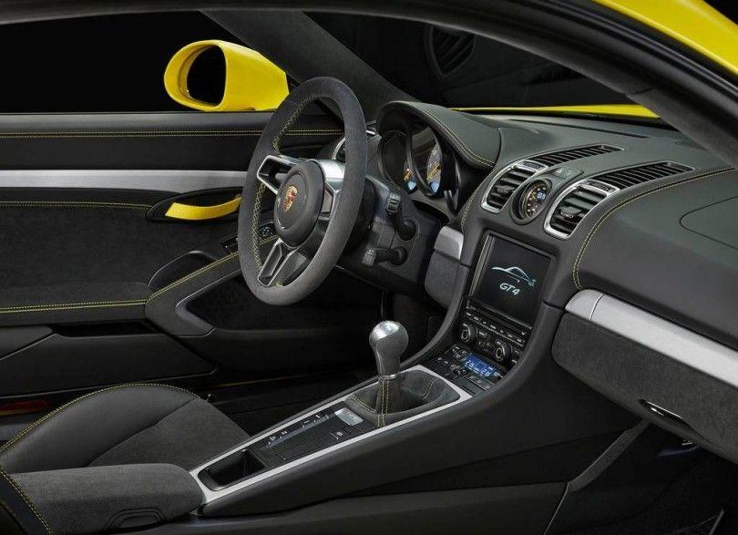 2016 Porsche Cayman GT4 Interior View
