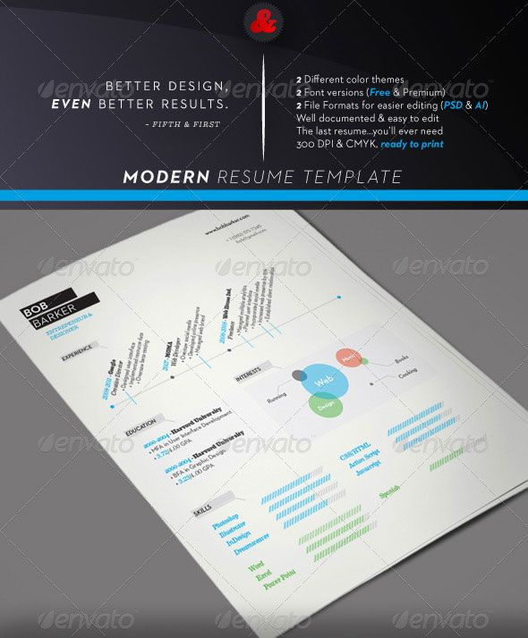 Experience formatting Formatting Pinterest Modern resume - how you do a resume