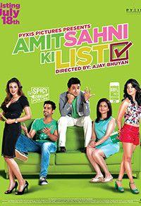 Amit Sahni Ki List 2014 Full Hindi Movie Watch Online DVDScr
