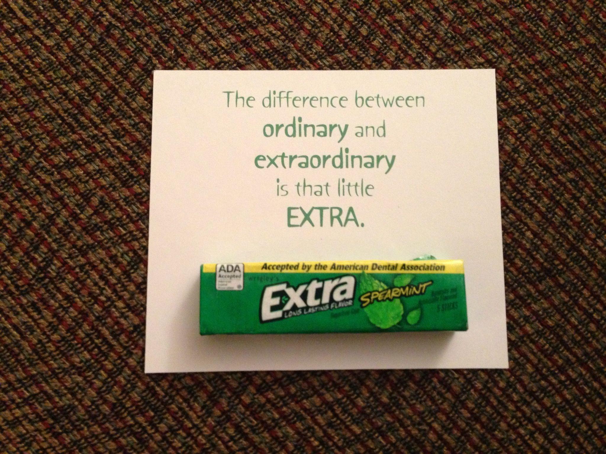 teacher or volunteer appreciation favor. | pta volunteers