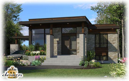plans Design Houses Pinterest Maisons extérieures, Plans - plan petite maison plain pied