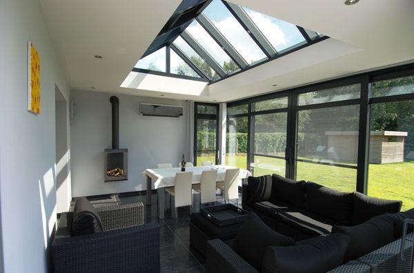 Esapace extensions agrandissement maison nord extension habitation 19 d co pinterest - Moderne entree veranda ...