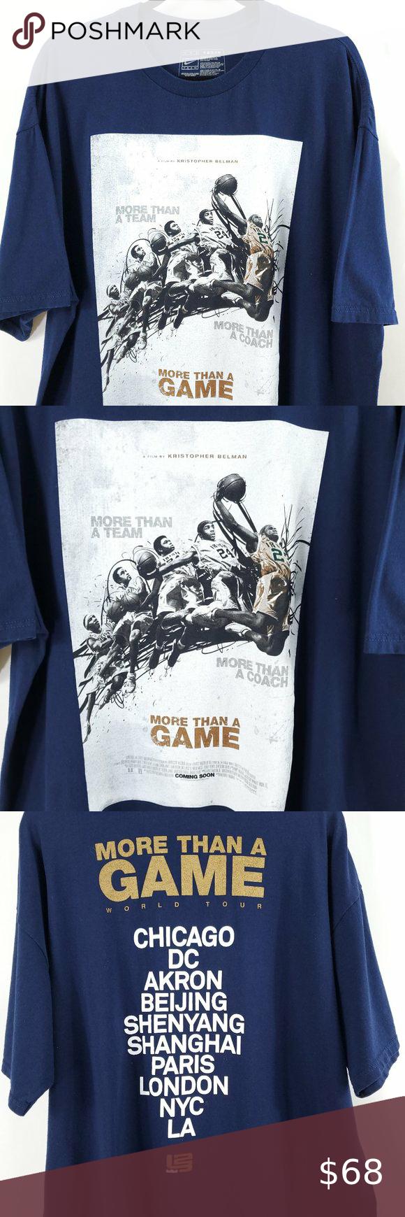 Lebron James Shirt Nike More Than A Game Lebron James Shirts Shirts Lebron James [ 1740 x 580 Pixel ]