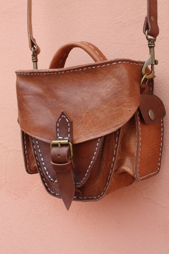 Leather Camera Purse by Leatherfinerwork on Etsy, $189.00