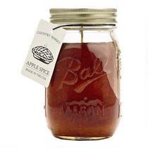 Apple Spice Mason Jar Candle