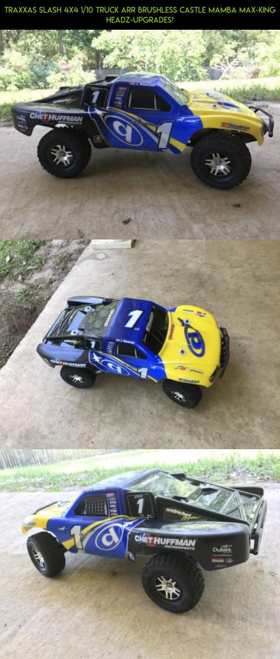 Traxxas Slash 4x4 1 10 Truck Arr Brushless Castle Mamba Max King