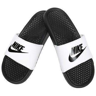 c12b9e264659 Men s Nike slide white black
