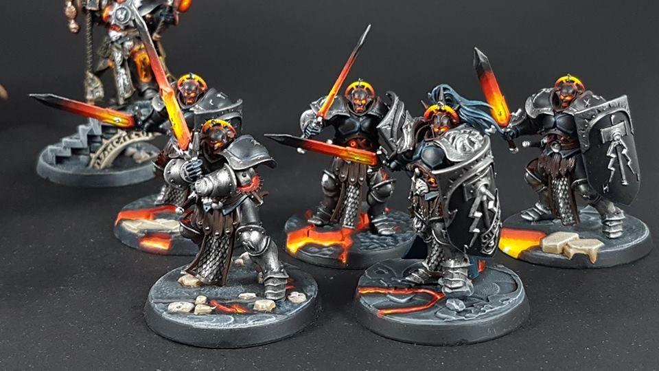 Warhammer Age of Sigmar | Stormcast Eternals | Liberators #warhammer #ageofsigmar #aos #sigmar #wh #whfb #gw #gamesworkshop #wellofeternity #miniatures #wargaming #hobby #fantasy