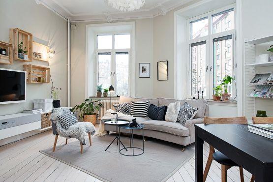 tendencias espacios pequenos muebles ikea interiores estilo nordico interiores decoracion muebles de ikea