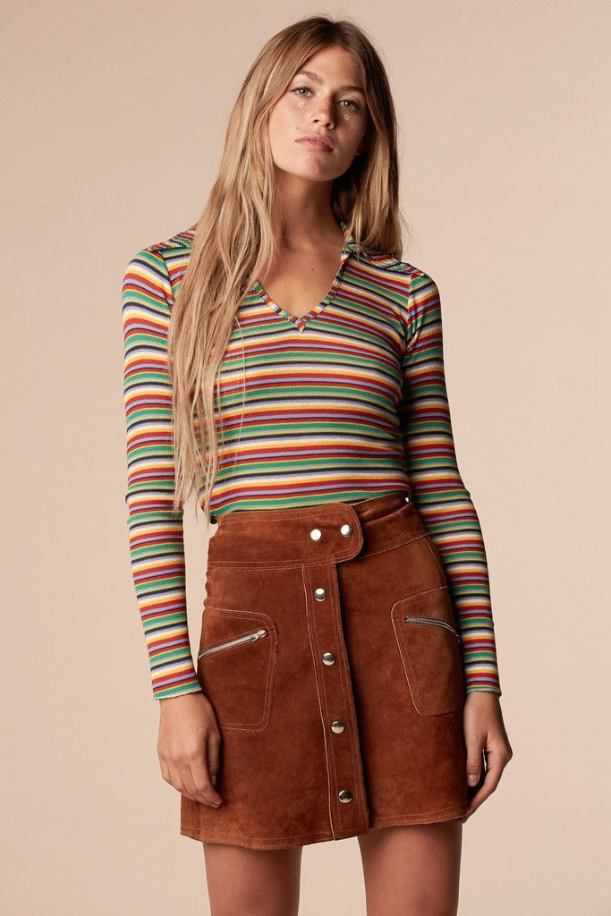 follow me Zanj Kushan Brady Bunch Rainbow Shirt – Stoned Immaculate Vintage We are want to say thanks if you like to share this post to another people via your facebook, pinterest, google plus or twitter account. Right Click to save picture or tap and hold for seven second if you are using i... #70sfashion