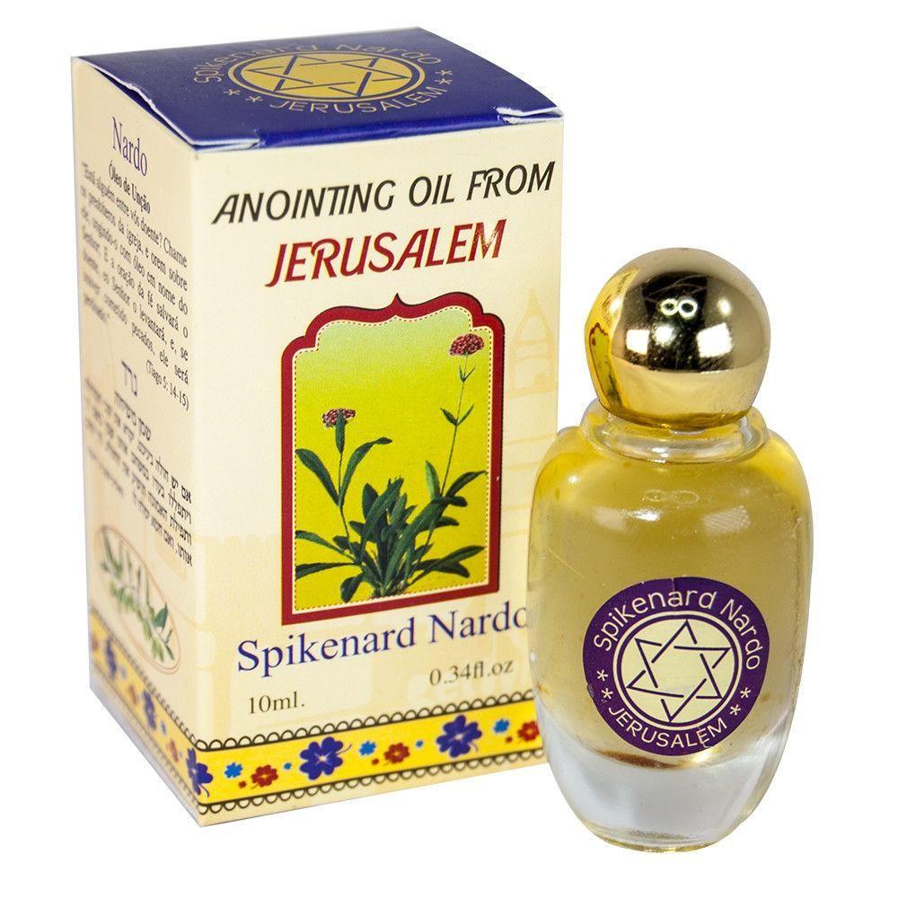 Spikenard Anointing Oil 10ml Blessing from Jerusalem