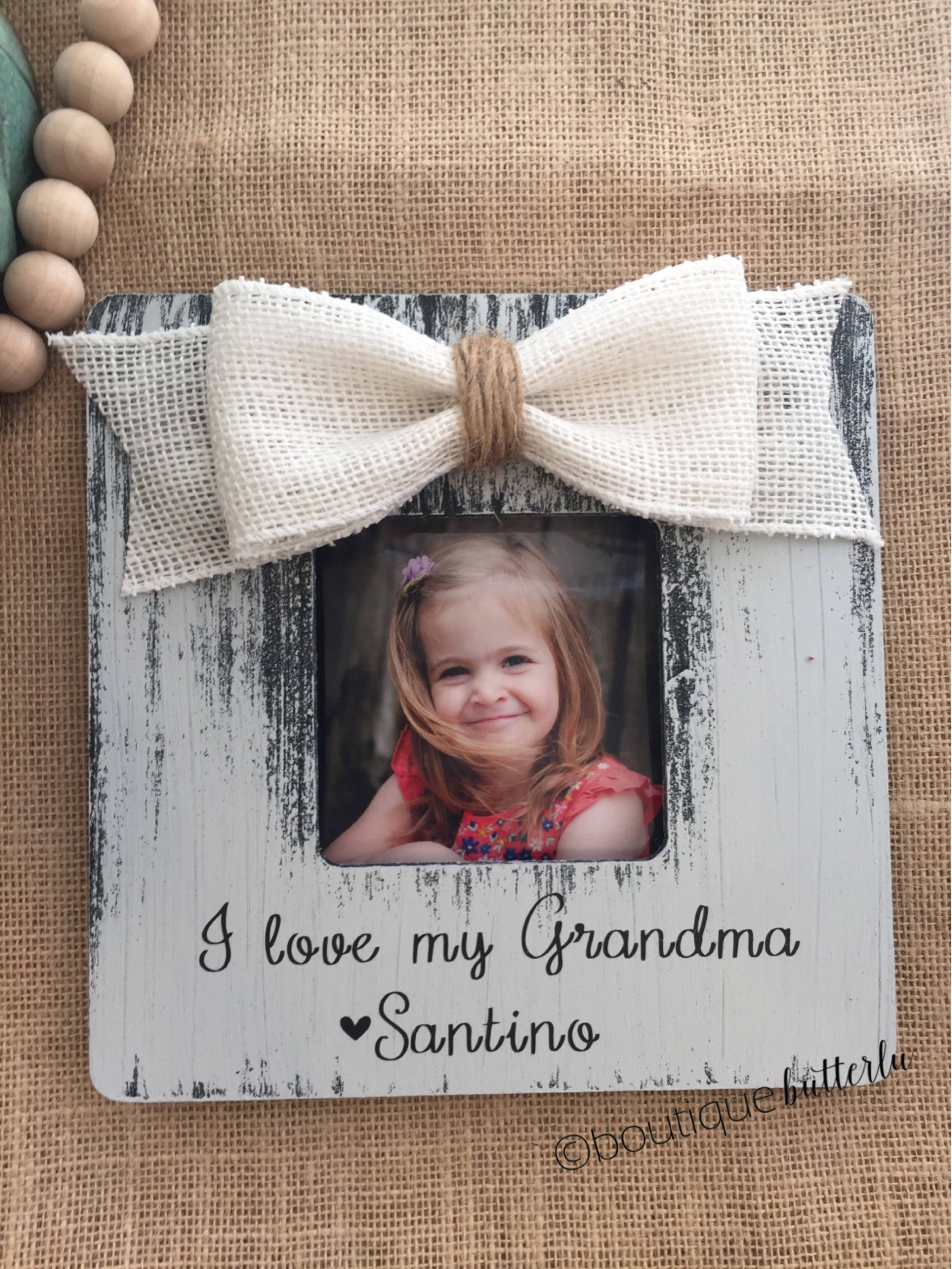 gift for grandma christmas grandma personalized picture frame