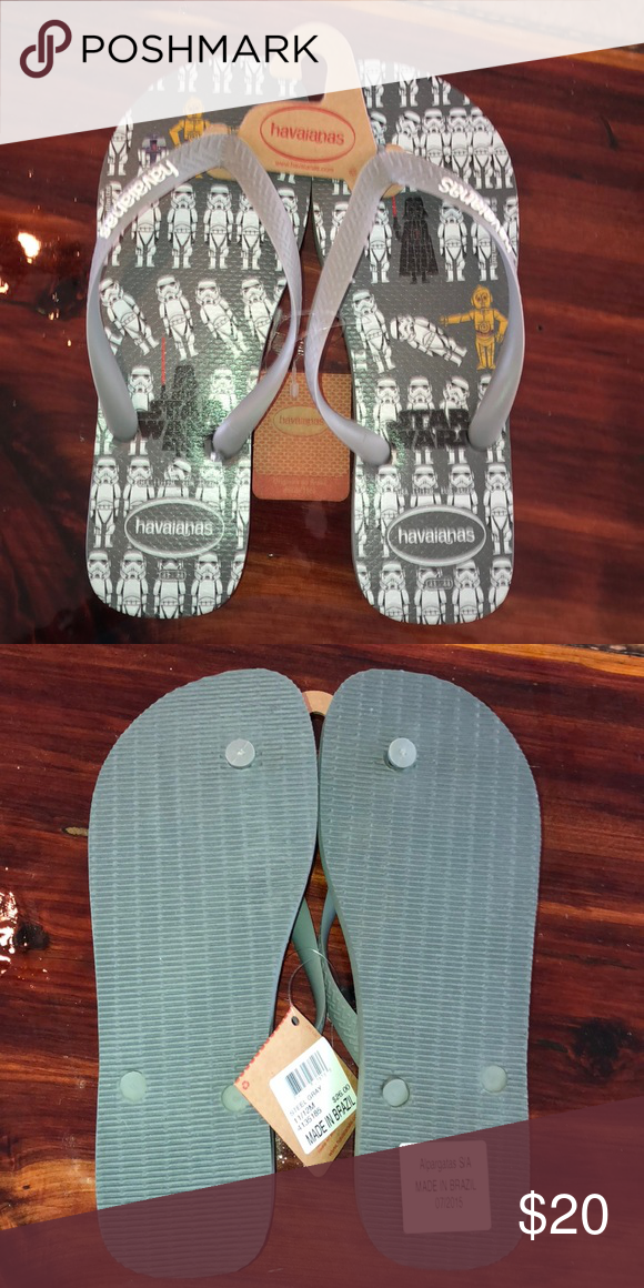 f1d19897a60f Havaianas Men s Limited Edition Star Wars Sandals brand new with tags