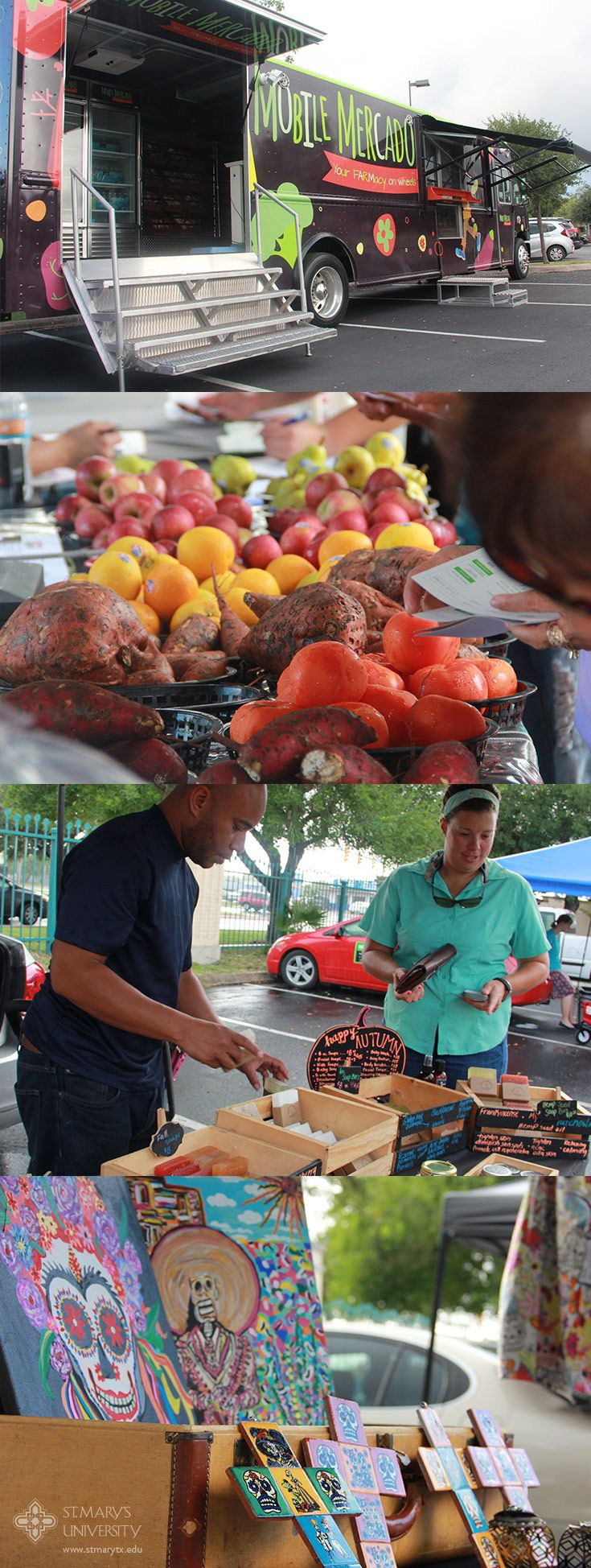 San Antonio Food Bank's Mobile Mercado brought fresh