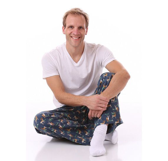 Easy-Fit Men\'s Pajama Pants Pattern for Tweens, Teens and Adults ...