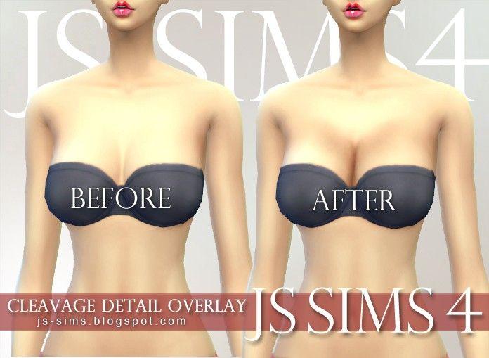 Sims busty boobs mod