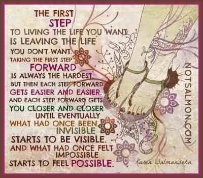 My first step...