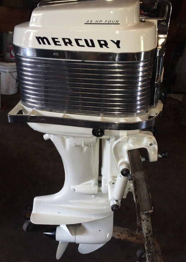 Mercury 400s 45 hp Outboard Vintage Motor for sale  | Boats