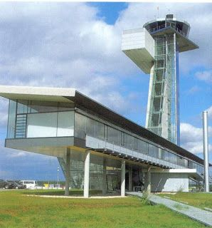 g nter behnisch n rnberg airport tower 1997 1999 architecture pinterest airports and towers. Black Bedroom Furniture Sets. Home Design Ideas
