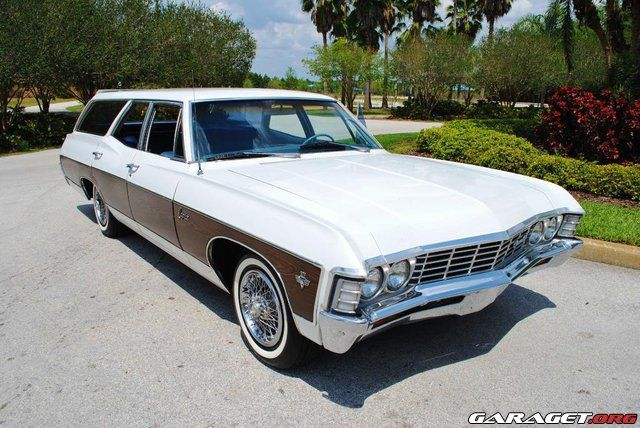 1967 Chevy Caprice Wagon Same As My Current Restoration Project