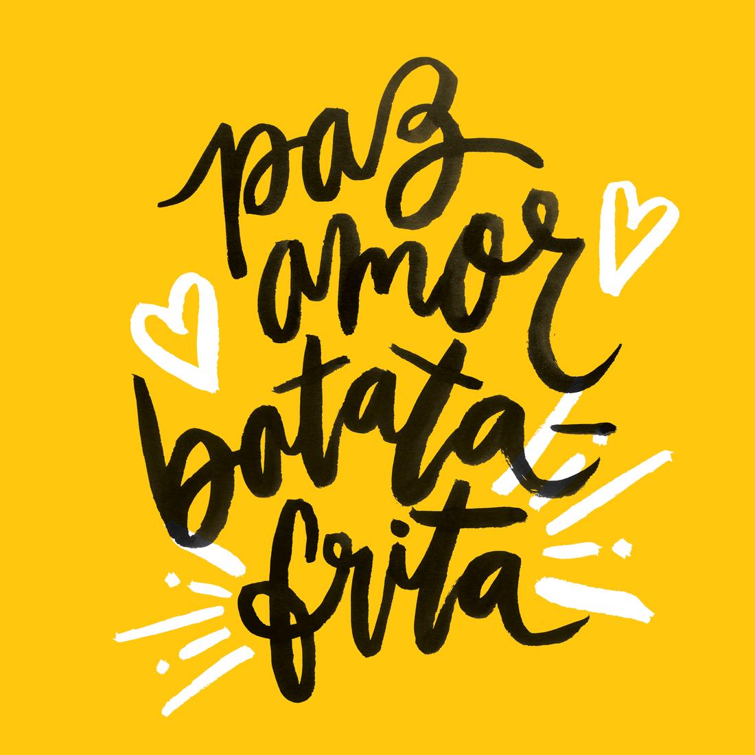 Paz Amor Batata Frita Prints Coisas Para Usar Pinterest  ~ Frases De Limpeza Na Cozinha