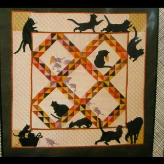 Cute quilt I found on an Amish quilt website.Border Idea