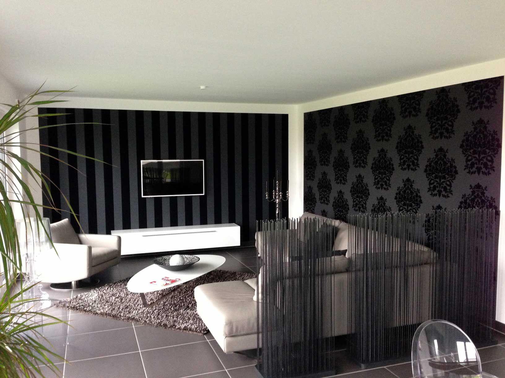 tapeten wohnzimmer ideen | jtleigh - hausgestaltung ideen, Moderne deko