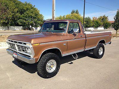 1975 Ford Truck F250 1975 Ford F 250 4x4 Highboy 121 925