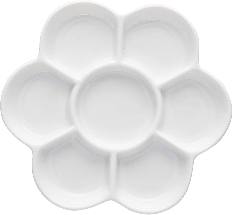 Easyou Porcelain Ceramic Palette Bone China Mixing Tray 17 In 2020 Porcelain Ceramics Ceramics Porcelain