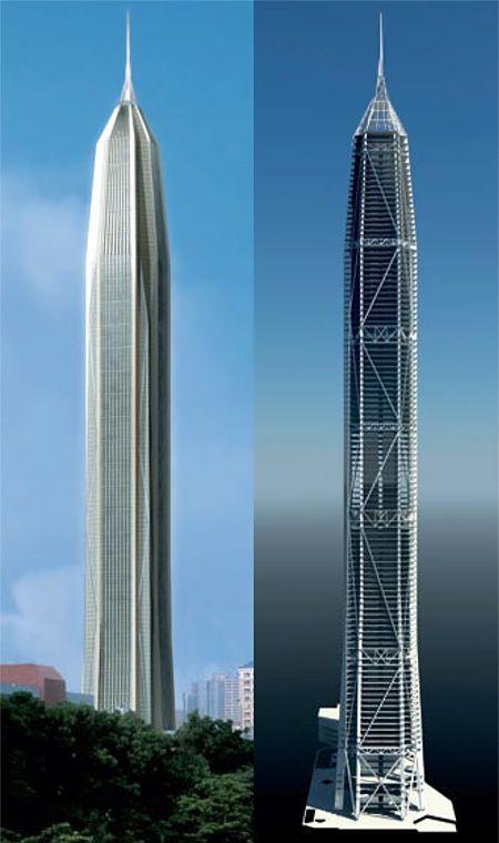 future skyscrapers | ... .com Image Library - 2541 - KPF ...
