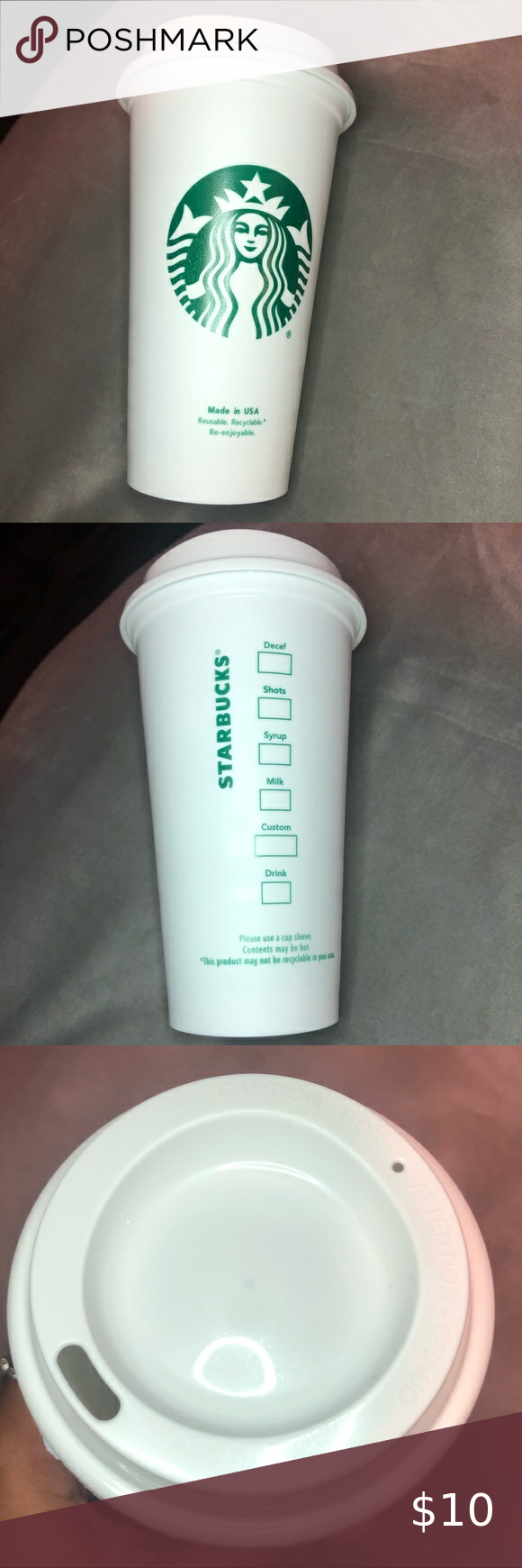 Starbucks Reusable Hot Cup in 2020 To go coffee cups