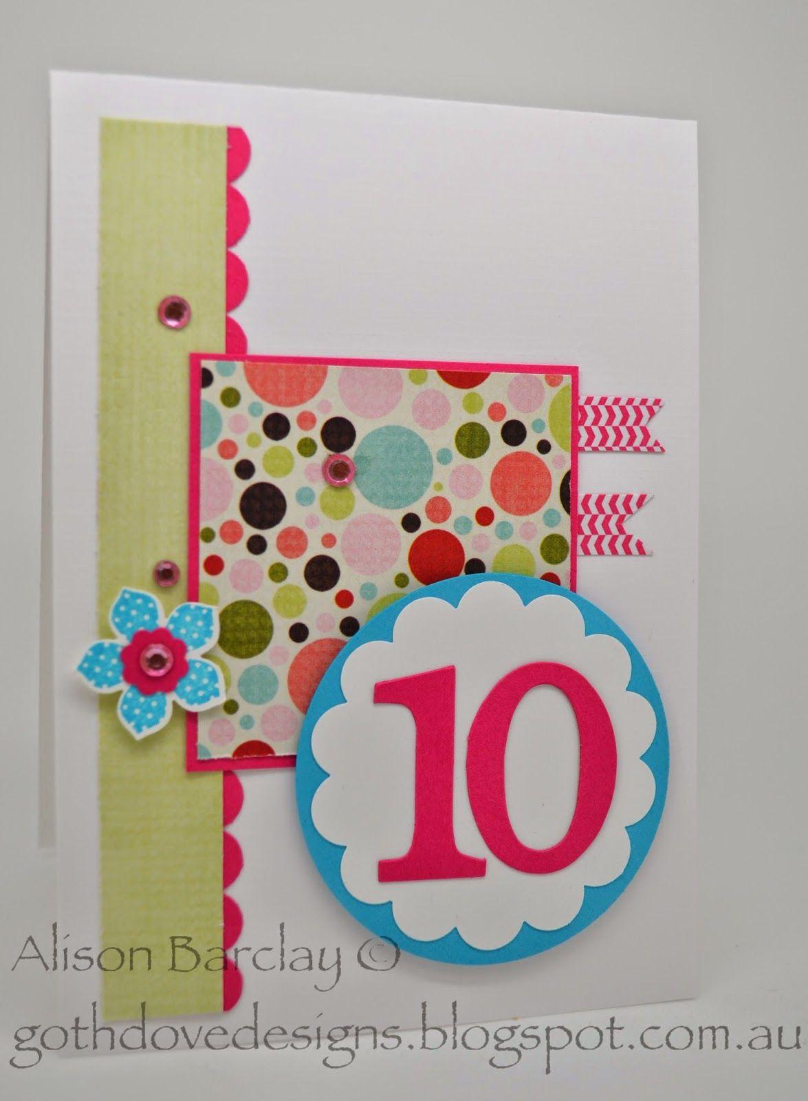 Gothdove Designs Alison Barclay Stampin' Up! ® Australia