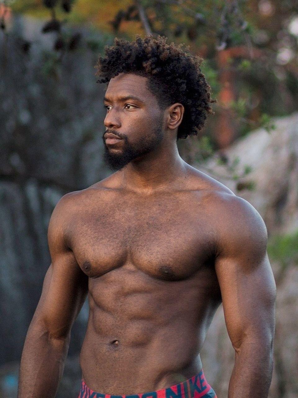 black men nude