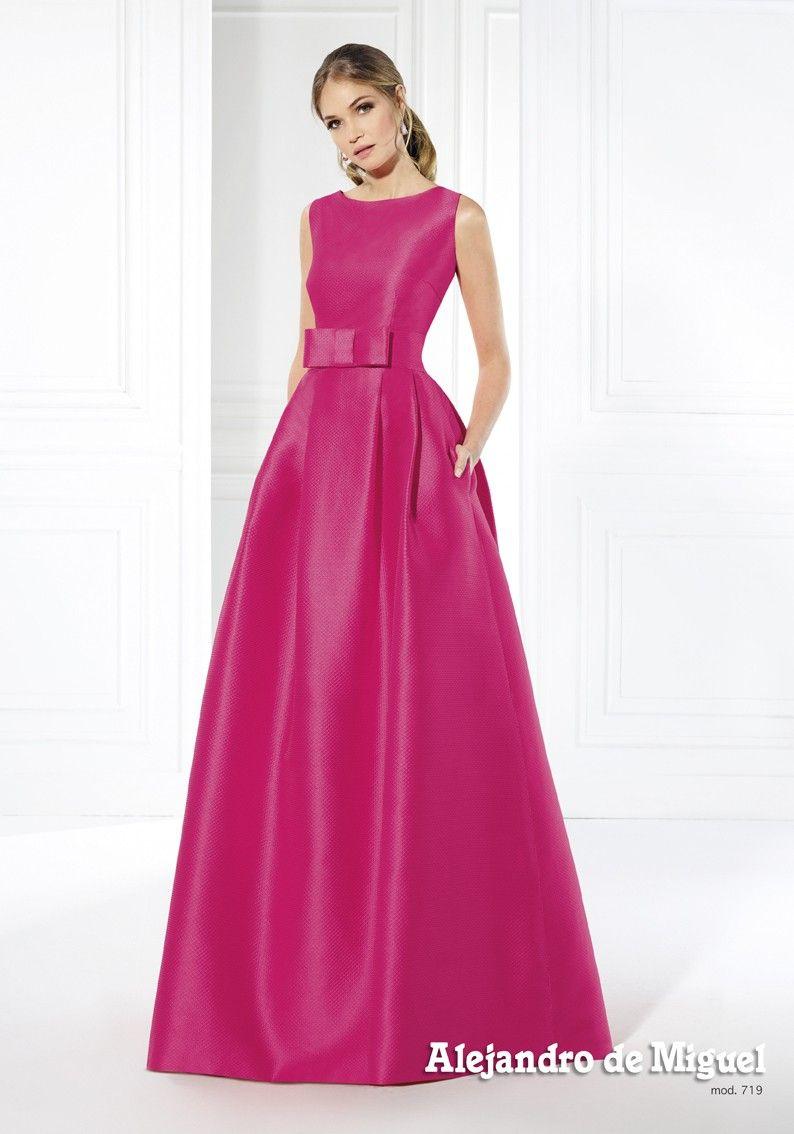 ALEJANDRO DE MIGUEL - MODELO 719 | Vestidos invitadas de boda ...