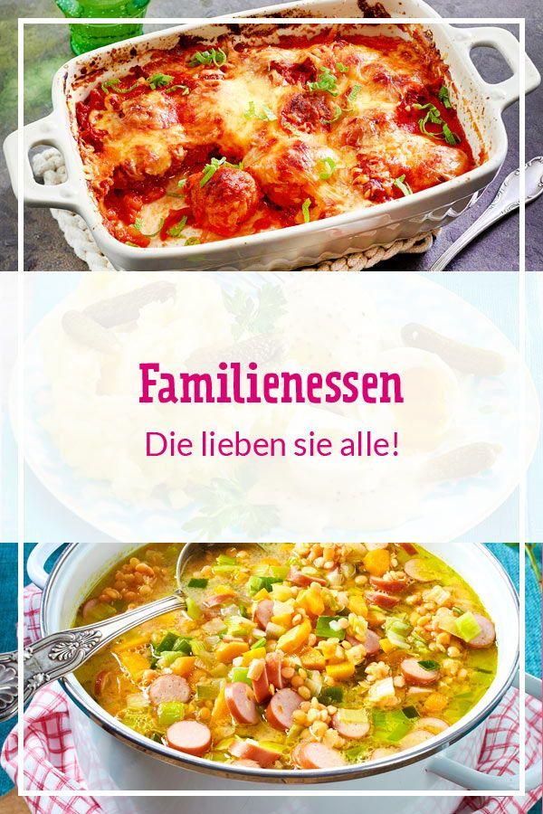 Familienessen - Rezepte, die allen schmecken #buffet