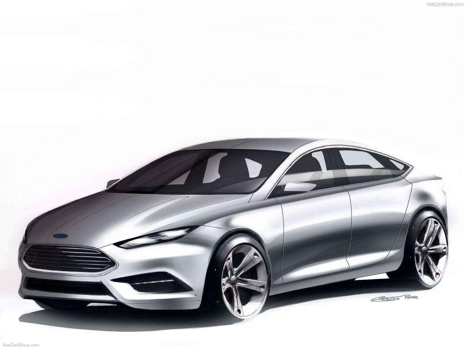 Ford Mondeo   Exterior Sketch