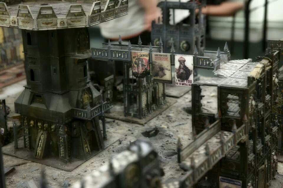 City fight terrain