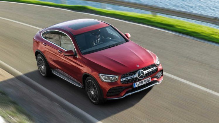 2020 Mercedes Benz Glc Coupe With New Tech And More Power Revealed