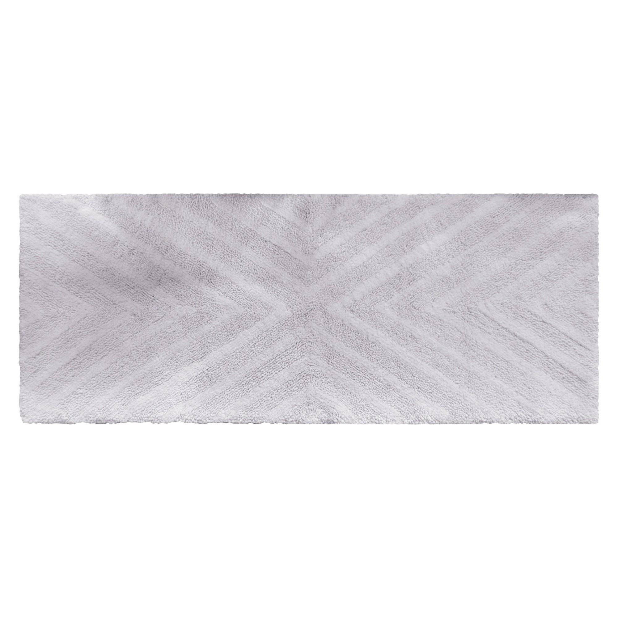 9d16d5e8b303 Textured Stripe Bath Rug Runner (23
