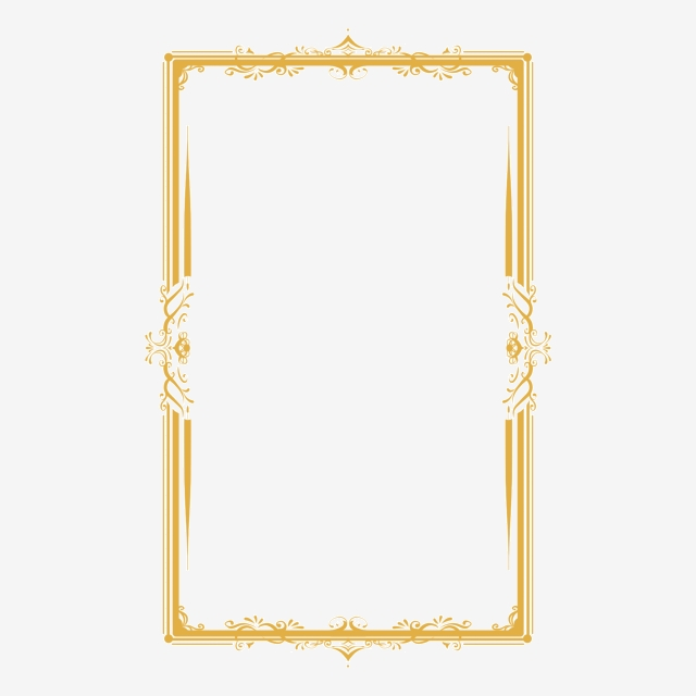 Classical Golden Pattern Border Border Pattern Border Classical Png Transparent Clipart Image And Psd File For Free Download Golden Pattern Gold Frame Background Patterns